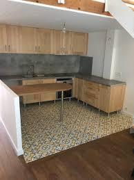 exemple cuisine rénovation de cuisine en carreaux de ciment arborescence sud ouest