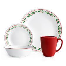 corelle livingware 16 dinnerware set winter