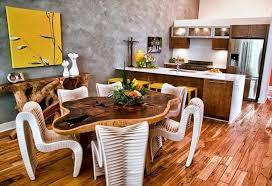 deco cuisine bois idée déco cuisine une déco cuisine moderne en jaune et gris