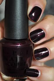 i have this color and absolutely love it opi black cherry chutney
