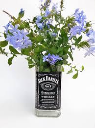jack daniels vase flower vase whiskey gifts gift for her zoom