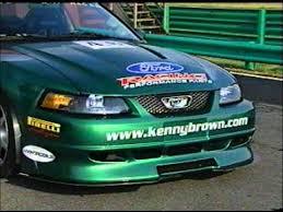 kenny brown mustang kenny brown csr and 3 8 special mustang on motorweek tv