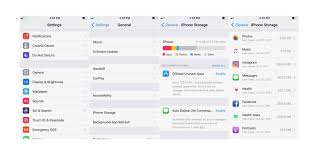 How To Optimize Photos On Iphone Ios 11 How To Easily Free Up Storage Space On Iphone And Ipad