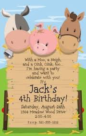 farm birthday invitations farm birthday invitations with amazing