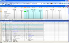 create your own soccer league fixtures and table excel templates