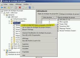 mettre un raccourci sur le bureau gpo préférences créer un dossier et raccourci pc2s bubu