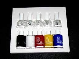 create your own nail paint collection with this artsy kit from