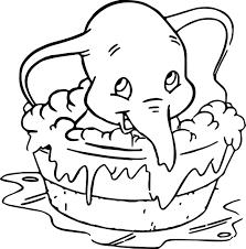 disney cartoon dumbo the elephant coloring pages womanmate com