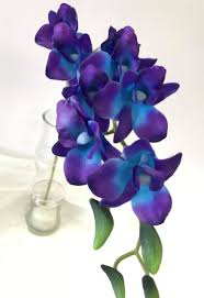 purple orchids silk blue orchids flowers wedding tips and inspiration
