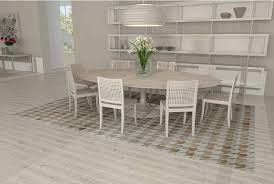 Leather Area Rug Houndstooth White And Beige Leather Area Rug Shine Rugs