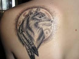 16 wild wolf tattoos