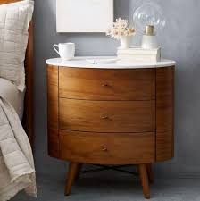 glass top end table with drawer espresso round nightstand with drawer awesome bedroom glass for 17 interior