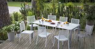 chaises grosfillex mobilier et salon de jardin grosfillex