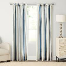 goods for life havana stripe pole top window curtain