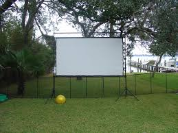Backyard Projector Diy Outdoor Movie Theater Yard Ideas Blog Yardshare Com