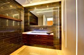 wood floor in bathroom laminate flooring in bathroom trellischicago