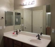 Framing A Bathroom Mirror Easy Diy Bathroom Updates Diy Mirror Bathroom Mirrors And