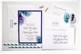 Peacock Wedding Programs Peacock Feather Printable Invitations