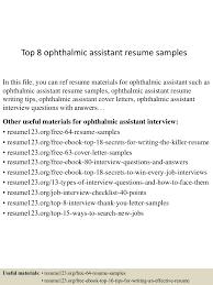 Resume Sample Pharmacy Technician by Ophthalmic Technician Resume Resume For Your Job Application