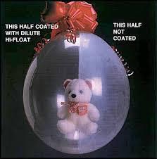 teddy bears inside balloons hi float booklet