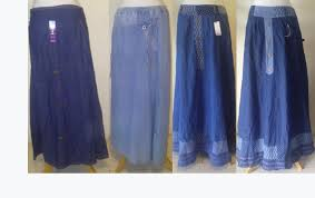 Baju Atasan Rok Levis grosir rok panjang grosir baju atasan wanita gamis