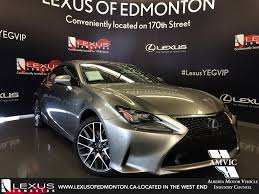 lexus north west uk lexus certified pre owned 2015 atomic silver rc 350 awd f sport