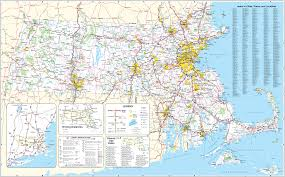 Large Map Of United States by Cis Maps Of Massachusetts