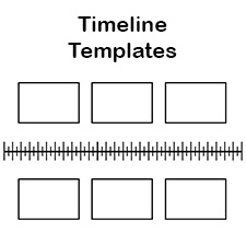 timeline templates biography timeline template free blank history timeline templates for kids and students