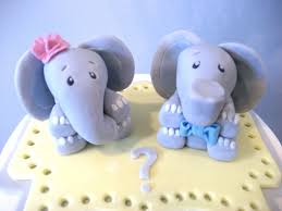 elephant cake topper baby elephant boy cake toppers