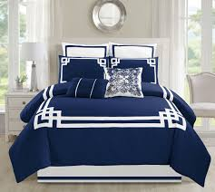 Bed In A Bag Duvet Cover Sets by Piece Lucca Navy Bed In A Bag Set