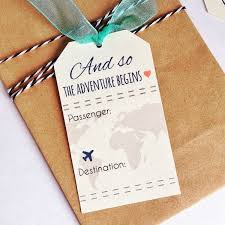 themed place cards instant travel wedding theme place card favor