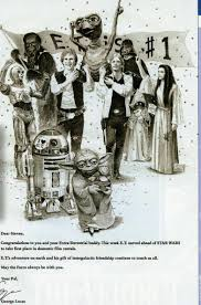 george lucas congratulatory letter to spielberg 1983 the