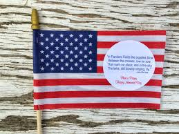 jac o u0027 lyn murphy memorial day favors poignant party poppies