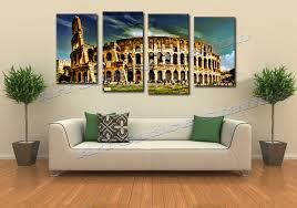 Aliexpress Com Buy Huge Buildings Rome Colosseum Arena Giclee