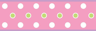 Wallpaper Borders For Girls Bedroom New Pink Purple Green Polka Dot Wallpaper Border Girls Bedroom