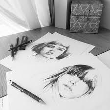 ink u0026 pencil 4 on behance