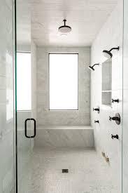 Black Bathroom Fixtures 16 Marble Bathrooms With Black Fixtures