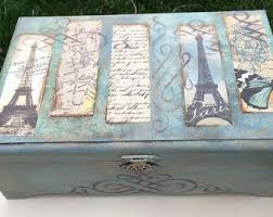 Paris Themed Jewelry Box Paris Bedroom Decor