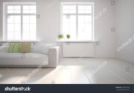 white empty interior concept flower on stock illustration