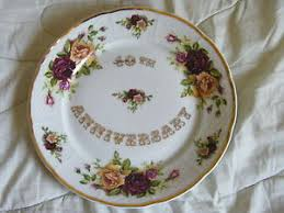 40th anniversary plates thun carlsbad porcelaine de boheme 40th anniversary plate ebay
