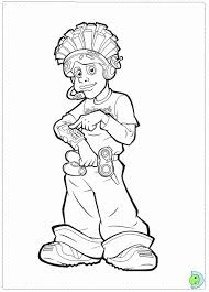 lazytown coloring pages coloring home