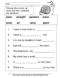 Oa Worksheets Phonics Worksheets Ai And Ay Sounds By Coreenburt Teaching