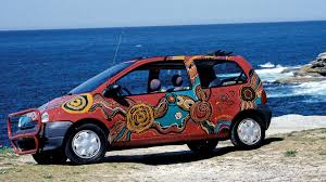renault twingo 1992 renault gets nostalgic with 1994 twingo art car