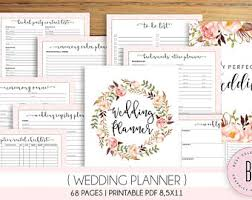wedding binder wedding binder etsy