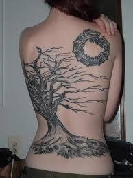 jango sizzlingly tree tattoos for