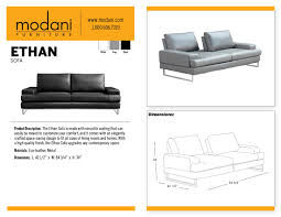 gray ethan sofa with a beautiful premium finishing