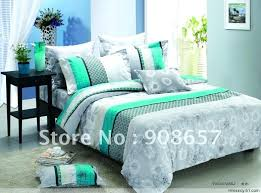 Teal And Grey Bedding Sets Teal Bedding Sets Sgmun Club