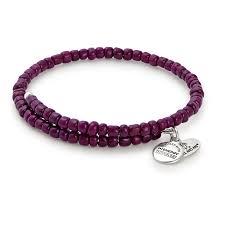 aubergine primal spirit wrap bracelet alex and ani