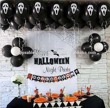 Halloween Party Decorations Halloween Party Supplies Decorations 12incn Black White Halloween