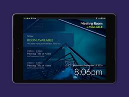 android room how to add a meeting room display to office 365 android tablets